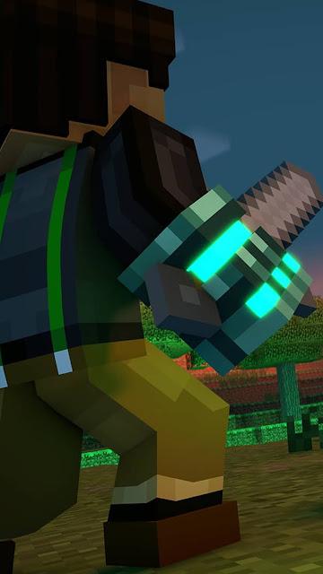 Minecraft (マインクラフト) バトル