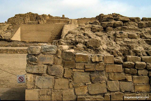 Sítio arqueológico de Pachacamac, Peru