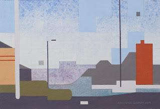"""Whitley Street Northwards 2"" by Michael Garaway"