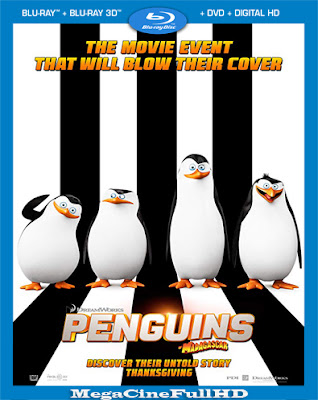 Los Pingüinos De Madagascar (2014) Full 1080P Latino
