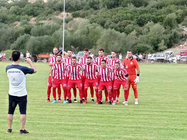 Ο Απόλλων Πάργας προκρίθηκε στην επόμενη φάση του κυπέλλου αποκλείοντας τον ΠΑΣ Αχέρων Καναλακίου.