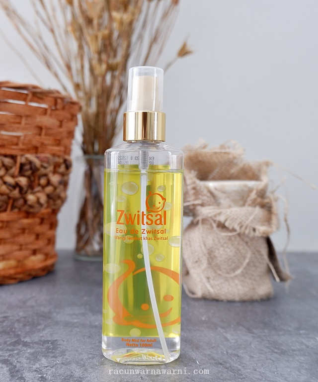 Review Eau De Zwitsal Body Mist For Adult