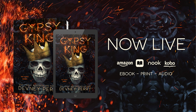 Release Blast: Gypsy King by Devney Perry