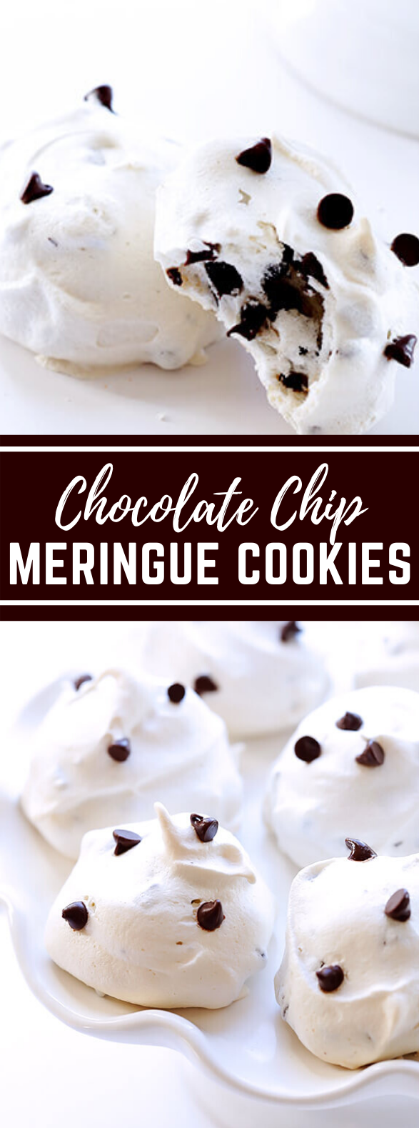 35-CALORIE CHOCOLATE CHIP MERINGUE COOKIES #desserts #deliciousrecipe