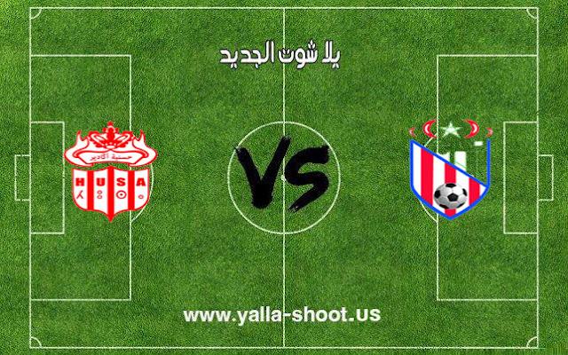 اهداف مباراة المغرب التطواني وحسنية اكادير اليوم 02-01-2019 الدوري المغربي