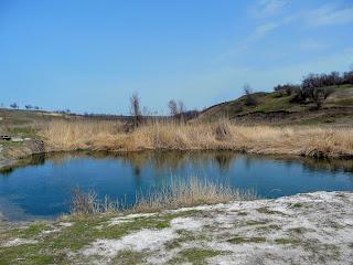 Речка Сенная. Небольшой водоём