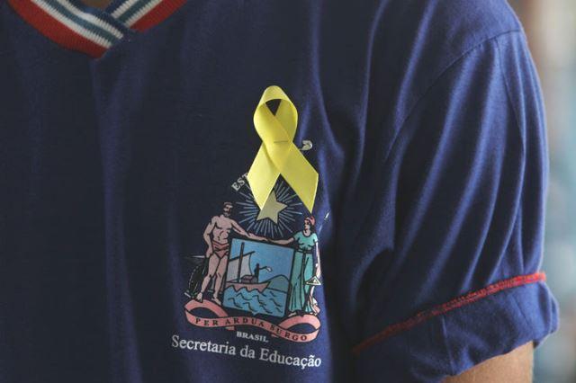 Escolas mobilizam estudantes em ações pedagógicas de prevenção do suicídio