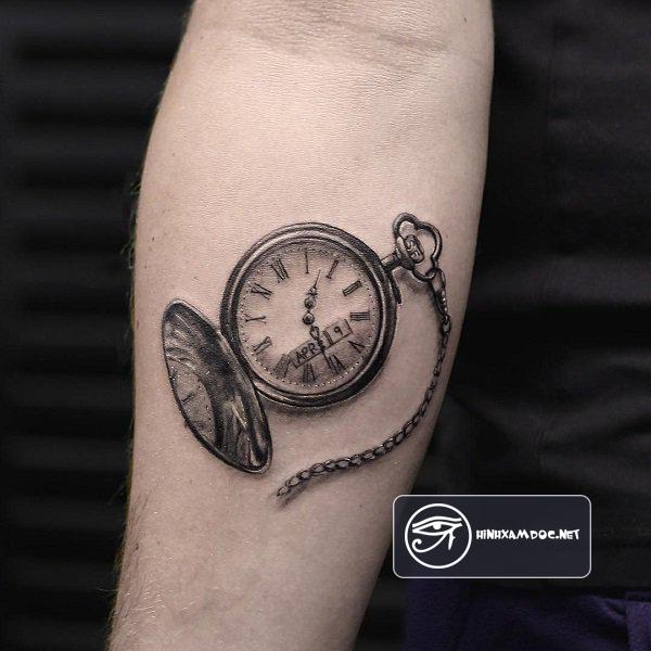 28 Watch Tattoo Designs Ideas: 83 Hình Xăm đồng Hồ đẹp đẳng Cấp Cho Nam Giới ở Cánh Tay
