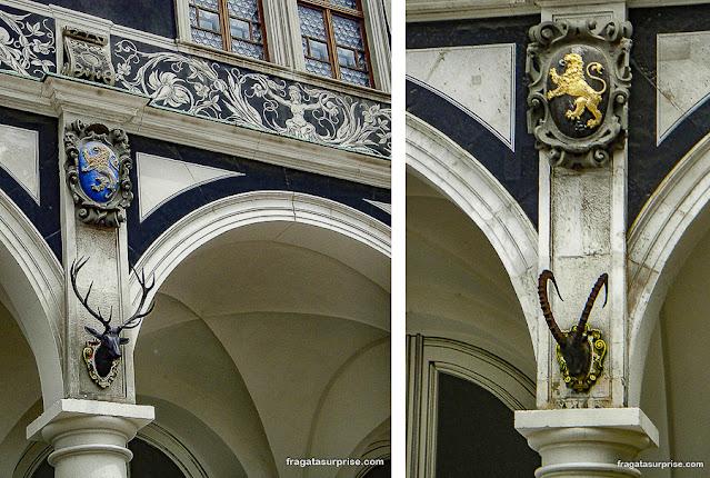 Decoração da Liça do Castelo de Dresden