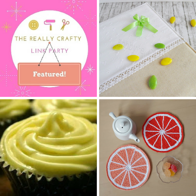 THe Really Crafty Link Party #71 featured posts!