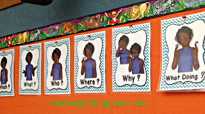 American Sign Language Questions Classroom Decor