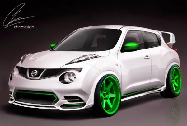 Gambar Modifikasi Mobil Nissan Juke Bergaya Retro 2014