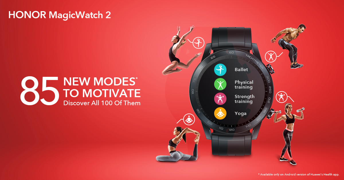 New Modes on Honor MagicWatch 2