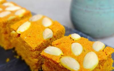 Sfouf: Lebanese Almond and Turmeric Cake