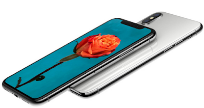 The iPhone X smartphone