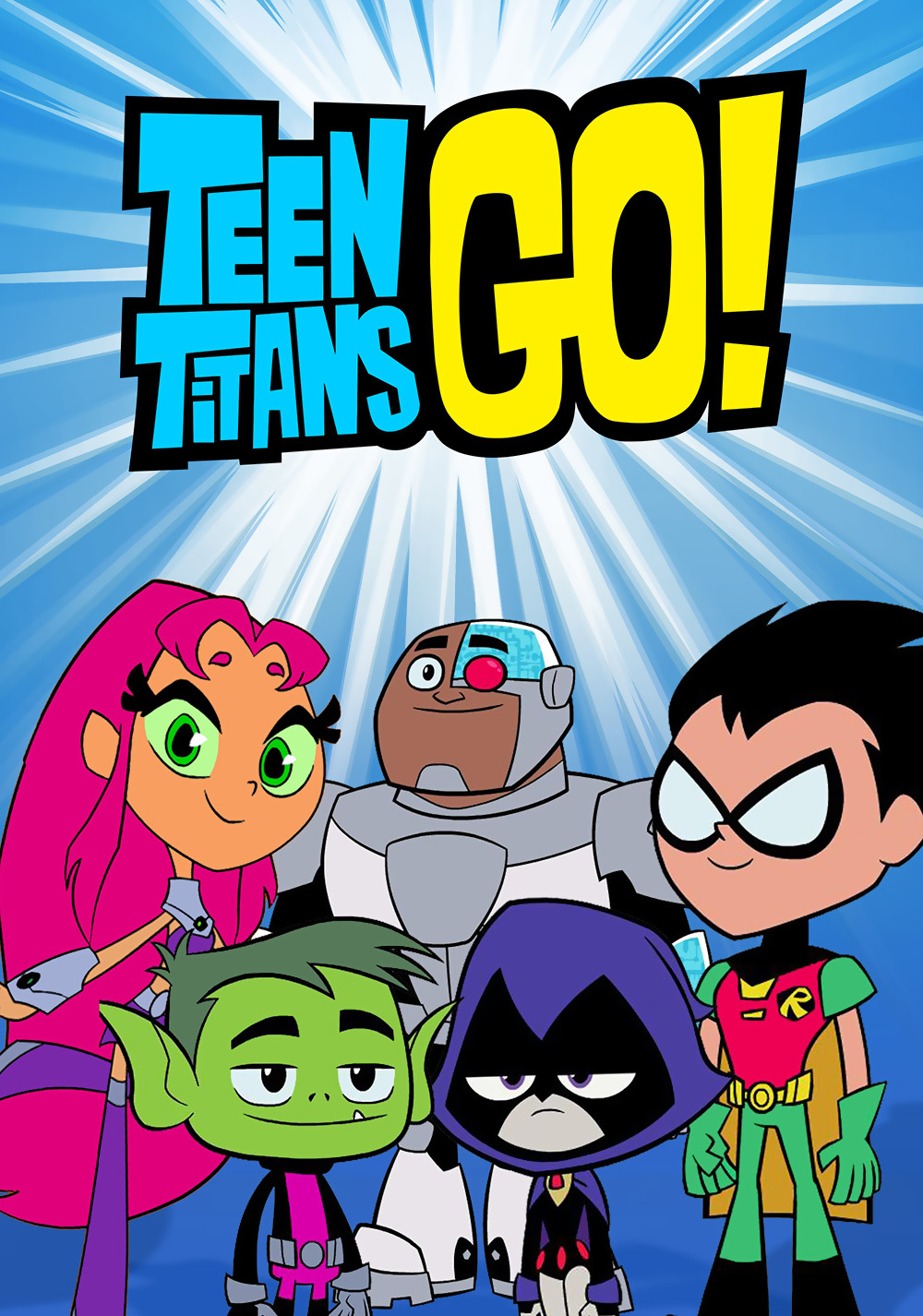 Teen Titans Go! [Season 1] [2013] [DVD9] [NTSC] [Latino] [4 DISC]