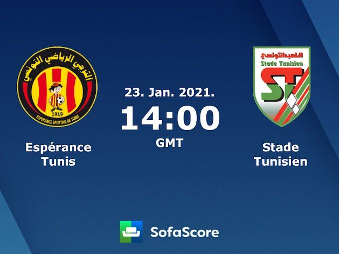 مشاهدة مباراة الترجي الرياضي و الملعب التونسي بث مباشر