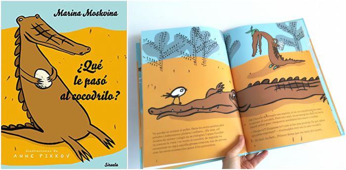 mejores cuentos infantiles 3 a 5 años, libros recomendados que le paso cocodrilo