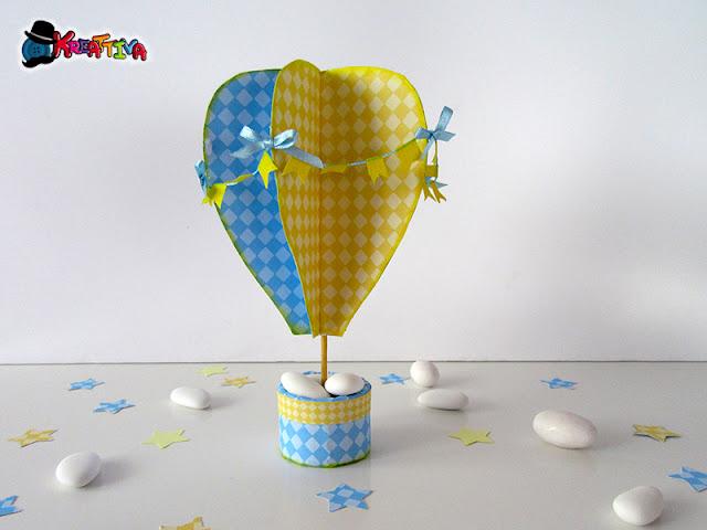 Mongolfiere Di Carta.Mongolfiera Decorativa In 3d Kreattivablog