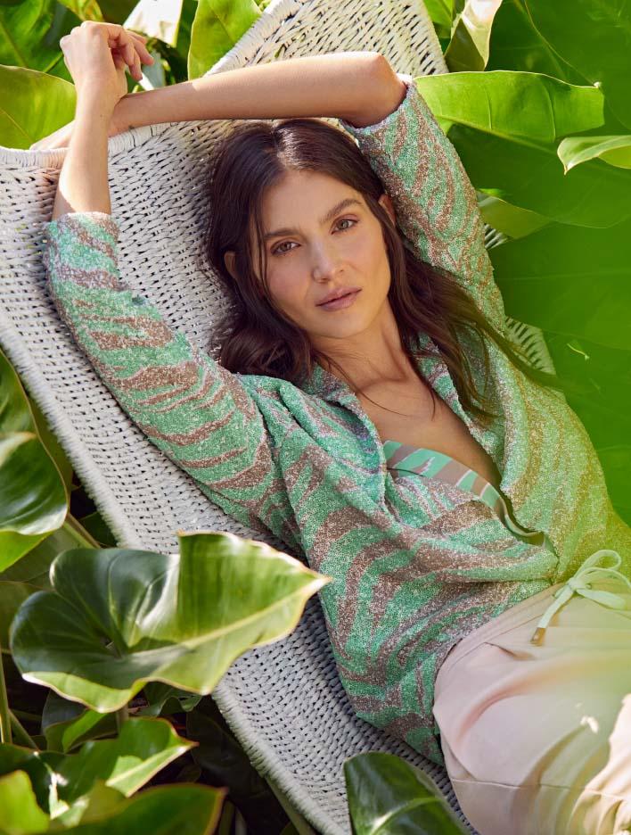 Blusas 2021 estampados de moda primavera verano 2021