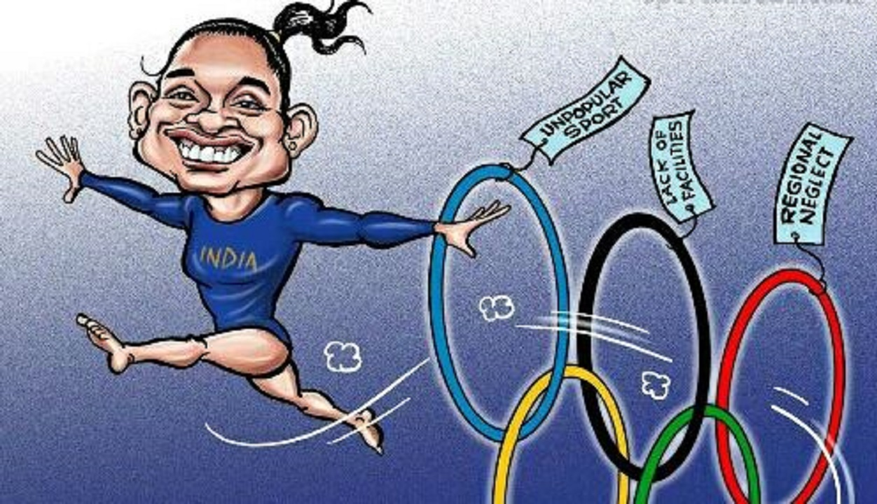 Olympic opportunities end for Indian gymnast