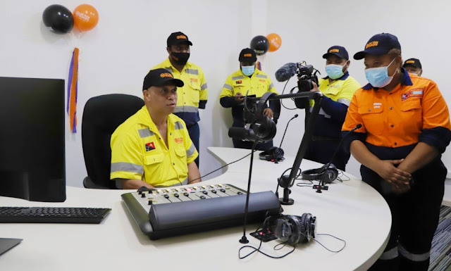 PNG OK Tedi Mine launches FM Radio Station