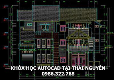 Học thiết kế autocad tại Thái Nguyên