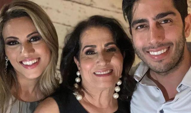 """Jonathan e Rebeca Nemer pedem orações pela mãe na UTI com Covid: """"Cremos na cura"""""""