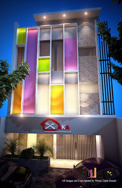Desain Renovasi Cafe Restaurant Bandar Lampung