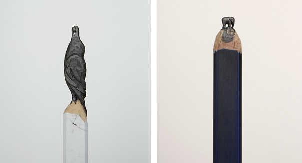 Скульптуры на кончике грифеля карандаша от Дием Чо (Diem Chau)  - DayDreamer Blog