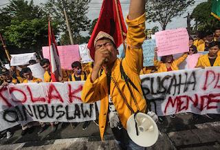 Para Dosen Dukung Mahasiswa Geruduk Istana Jokowi: Demo Dijamin Konstitusi