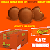 Reese's Peanut Butter Cups Instant Win Giveaway - 4,572 Winners Win a Full Box of 40 Packs of 3 Pack Reese's Peanut Butter Cups. Daily Entry, Ends 4/8/19