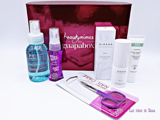 Fussy Guapabox beautybox beautymimos belleza beauty skincare uñas bioxan ren