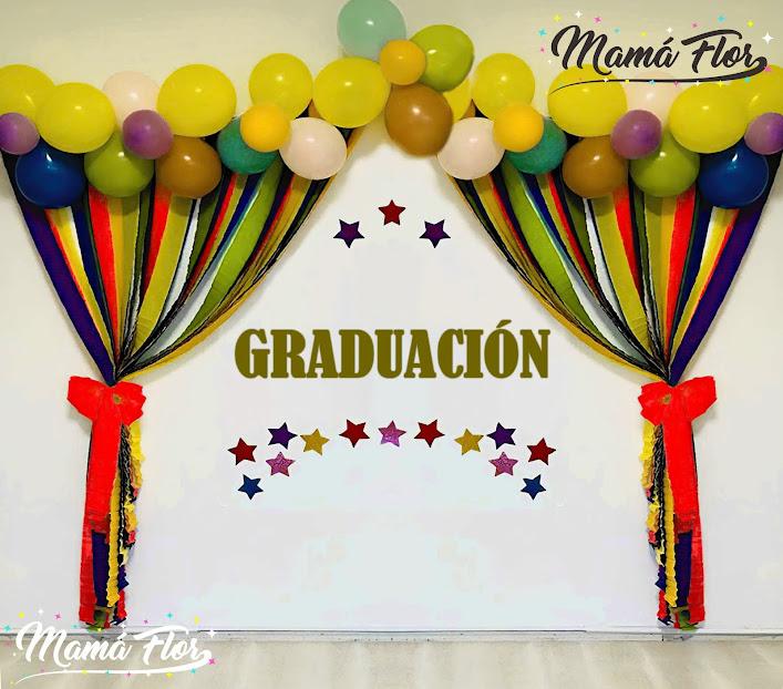 Mural de Fiesta de Graduación