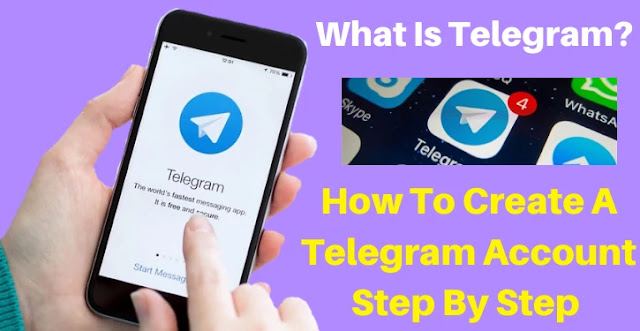 telegram, what is telegram, how to create a telegram account, telegram tutorials 2020
