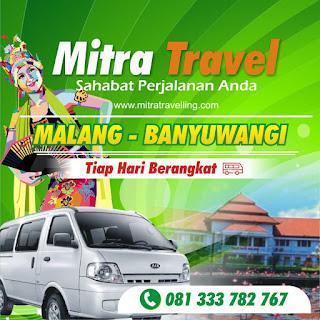 AGEN TIKET TRAVEL MALANG – BANYUWANGI (PP)