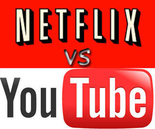 youtube vs netflix 2019