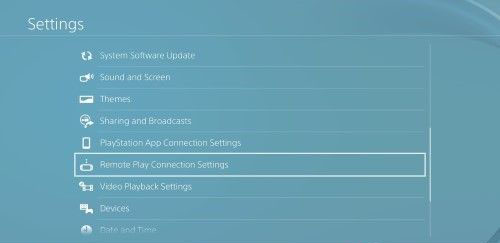 PS4 Setting | Kuze Android