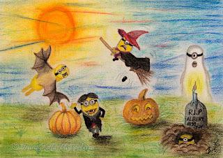 Minionide halloween