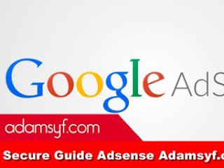 Secure Guide Adsense Adamsyf.com