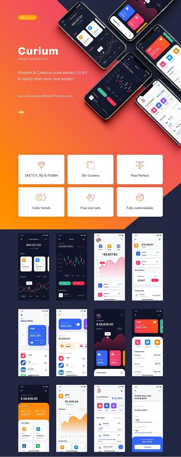 Financial UI Kit