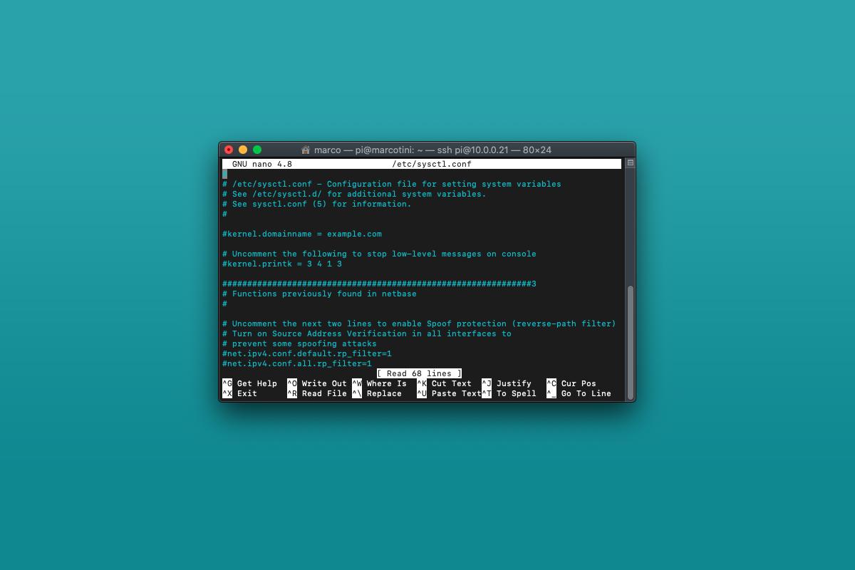 Come disabilitare IPv6 su Raspberry Pi