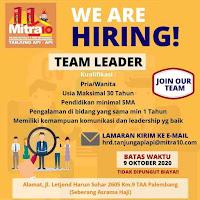 Loker Mitra10 Palembang