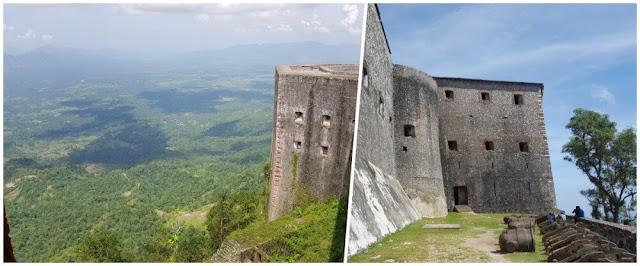 Citadelle laferrière de Haití murallas