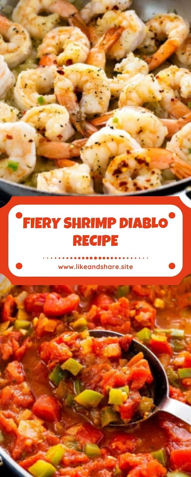 FIERY SHRIMP DIABLO RECIPE