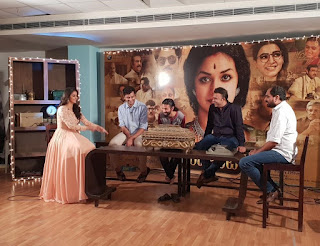 Keerthy Suresh with Mahanati Team Mahanati Success Meet 2