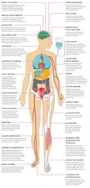 SMOKING EFFECTS ON BODY