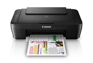 Allow the color printer to conveniently match also the so much smaller areas and racks in Download Canon PIXMA E410 Driver