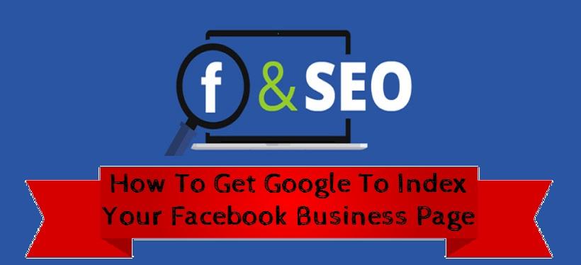 google index facebook page