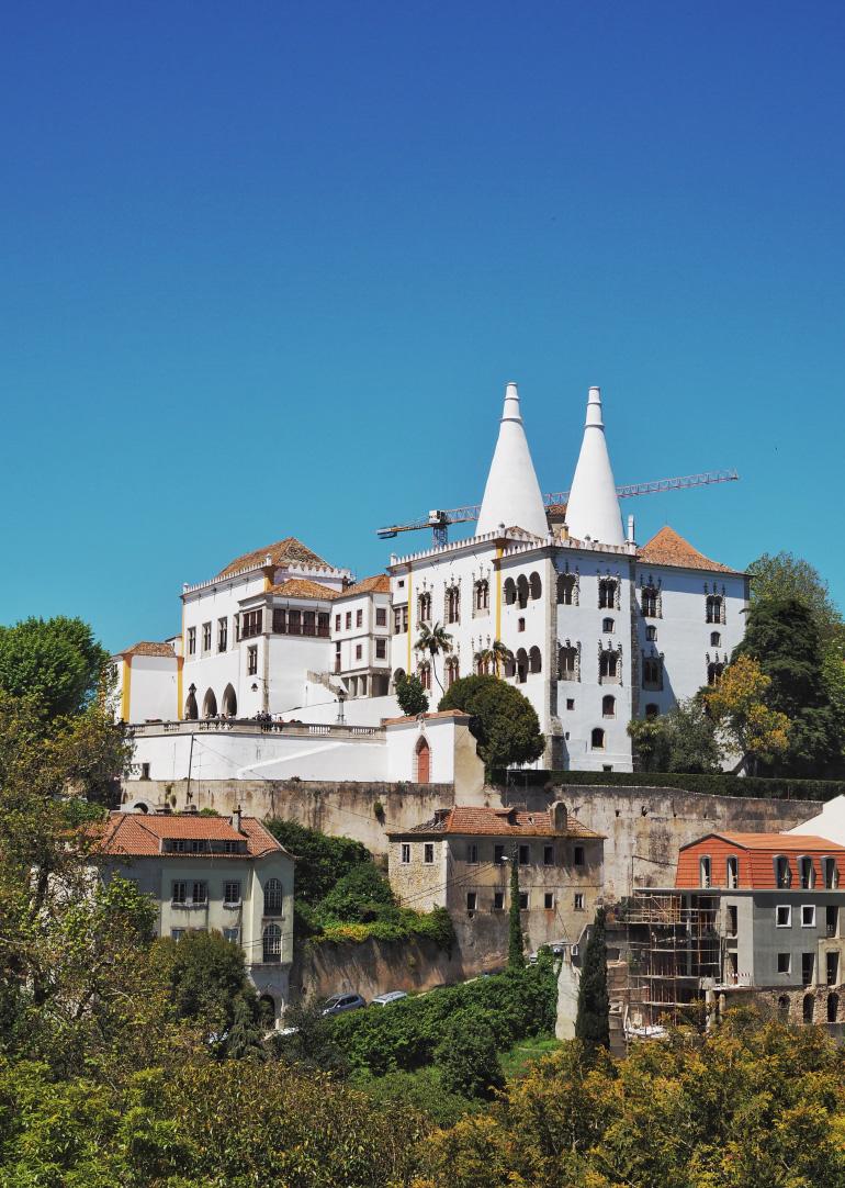 Le palais de Sintra près de Lisbonne